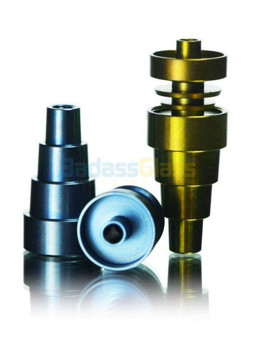anodized domeless titanium nail universal by dab logic at. Black Bedroom Furniture Sets. Home Design Ideas