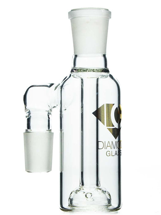 18mm 90 Degree Moonrock Ash Catcher by Diamond Glass