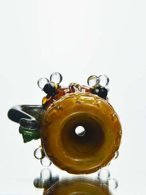 14mm Honeycomb Bees Bowl piece