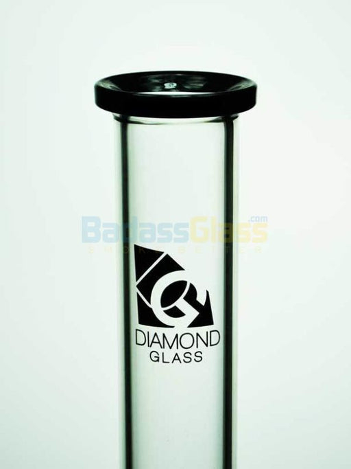 Black Water Gears Waterpipe By Diamond Glass