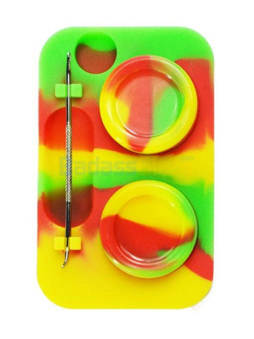 Dab Container And Tool Holder - Rasta
