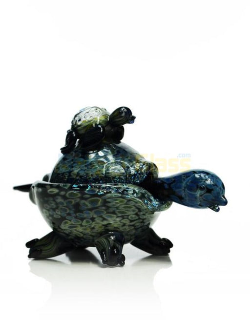 Double Turtle Dish and Dabber set