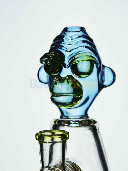 Furious George Banger Hanger By Swrv Glass - Uv Reactive