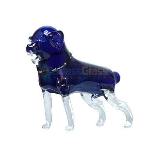 Glass Dog Pipe