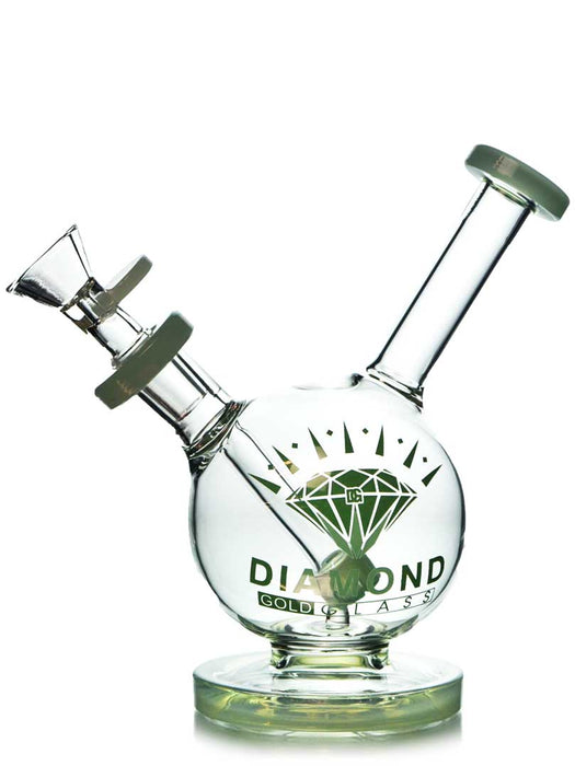 Mini Showerhead Ball Rig by Diamond Glass