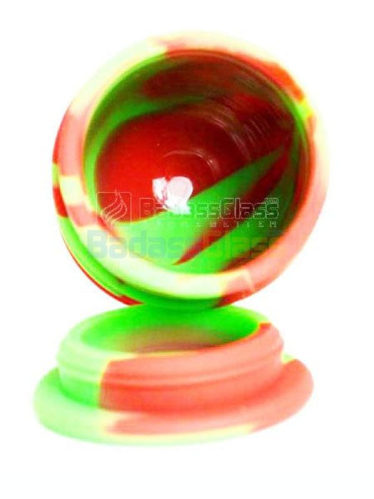Green & Red Oil Drum Wax Container