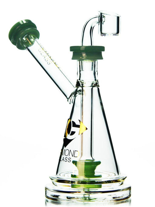Scientific Beaker Oil Rig By Diamond Glass
