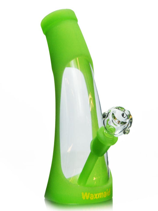 Waxmaid Horn Silicone Glass Bong