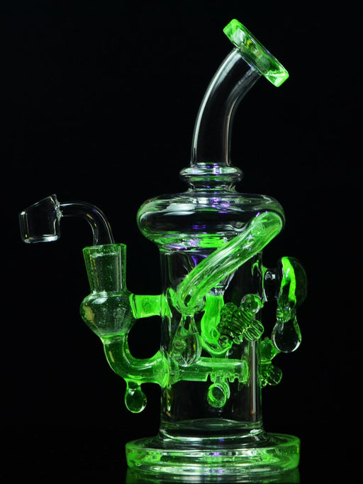 Illuminati Recycler by SWRV Glass - UV Reactive