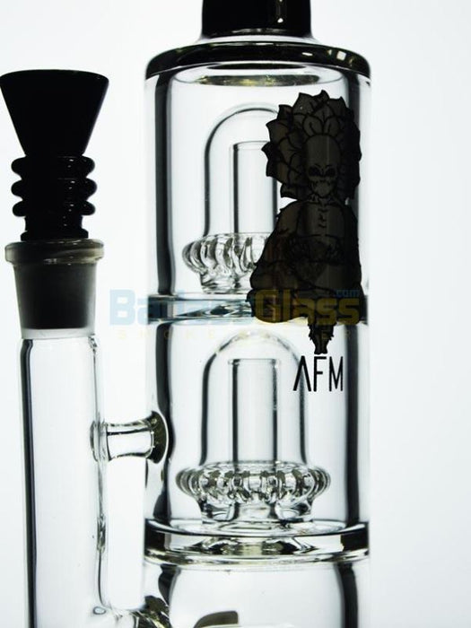 Inline to Double Showerhead by AFM Glass