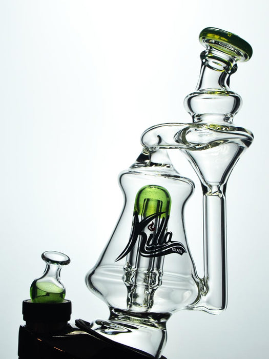 Recycler Puffco Peak Attachment by Killa Glass