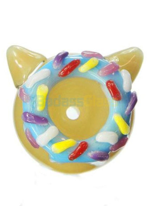 Kitty Donut Bowl By Empire Glassworks