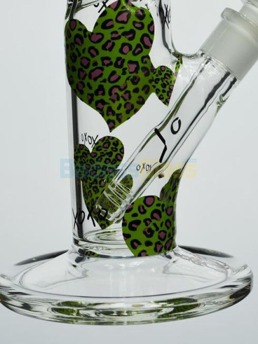 Leopard Girl Scout By Easy Glass
