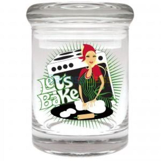 Let's Bake Jar for 1/8 oz.