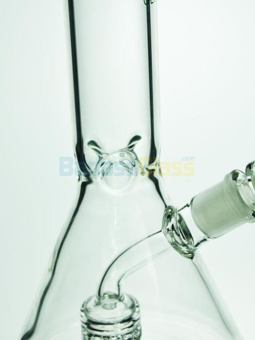 Beaker Bong with Fixed Downstem by Diamond Glass