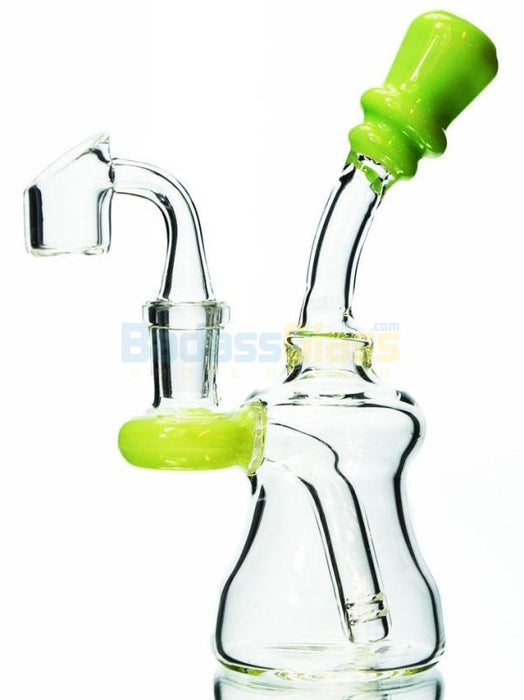 Mini Driver Dab Rig Lime Green