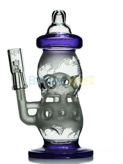 Purple Rain Cheese Bottle Recycler By High Tech Glass