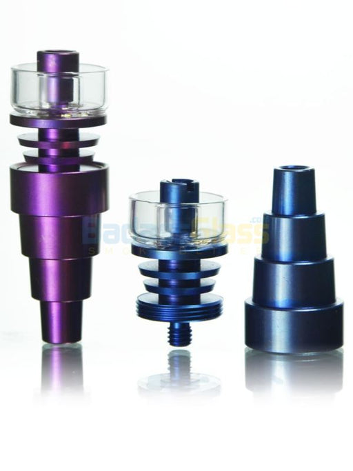 Quartz Titanium Hybrid Domeless Nail by Dab Logic