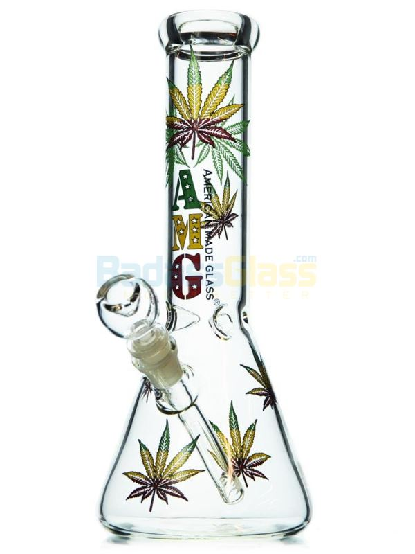 Rasta Leaf Beaker by AMG