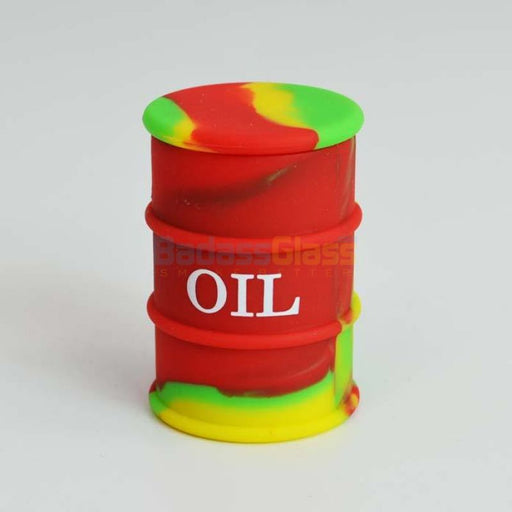 Rasta Oil Drum Wax Container