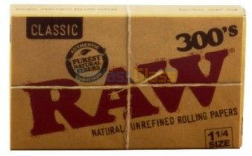 "RAW 300's 1 1/4"" Rolling Papers"