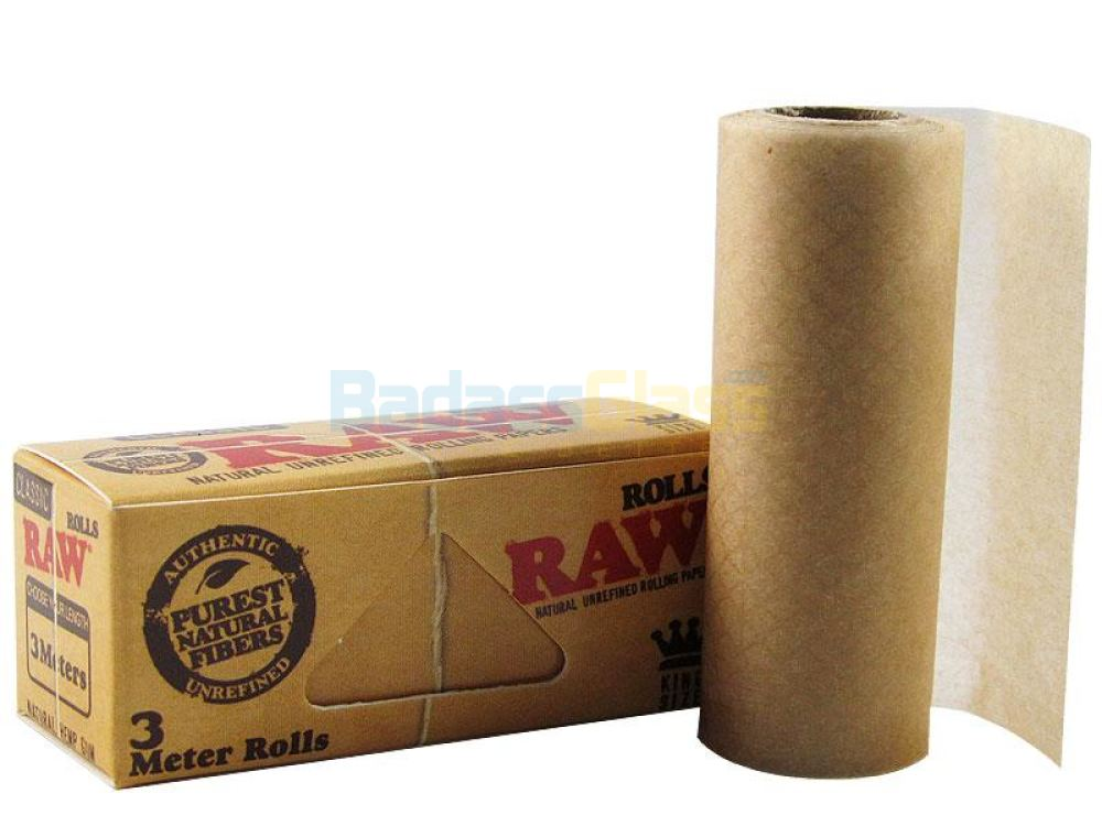 Raw King Size Roll - 3 Meters