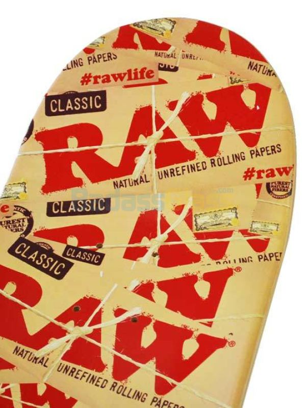 Raw Papers Skateboard Deck