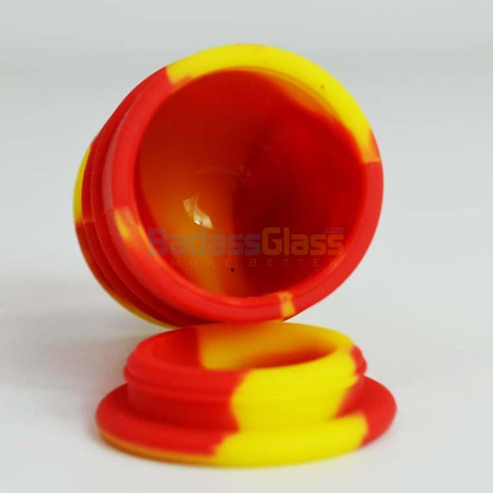Red & Gold Oil Drum Wax Container