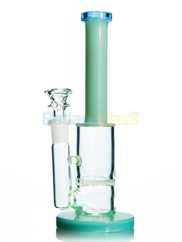 Retro Honeycomb Bong - Mint
