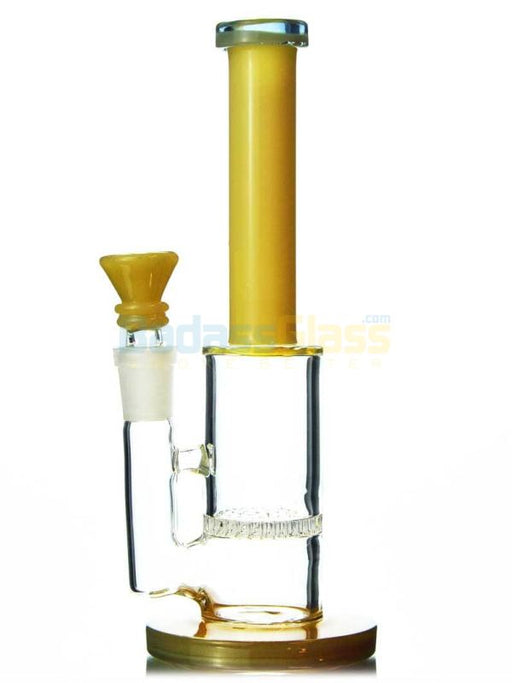 Retro Honeycomb Bong - Yellow