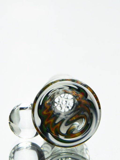 18mm White Rasta Bowl Piece