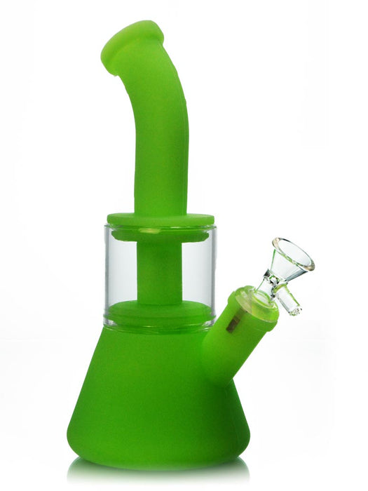 Silicone Dab Rig with Perc