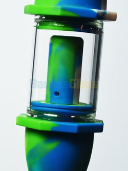 Silicone Nectar Collector - Green And Blue By Waxmaid