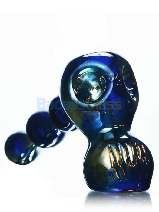 Skull Bubbler by SWRV Glass