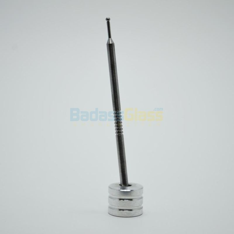 Titanium Sphere Tip Dabber With Stand