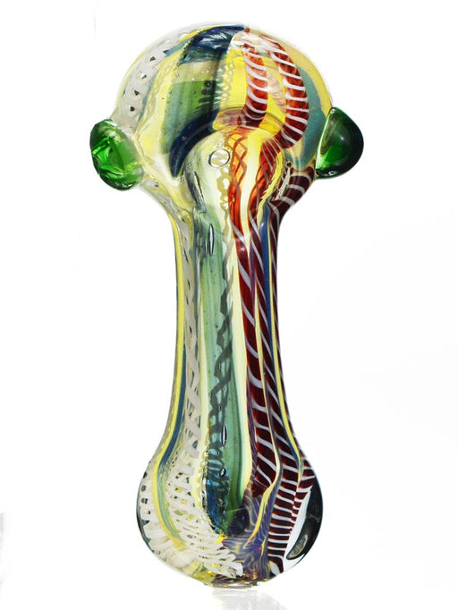 "3"" Dychro Triple Blown Glass Pipe"