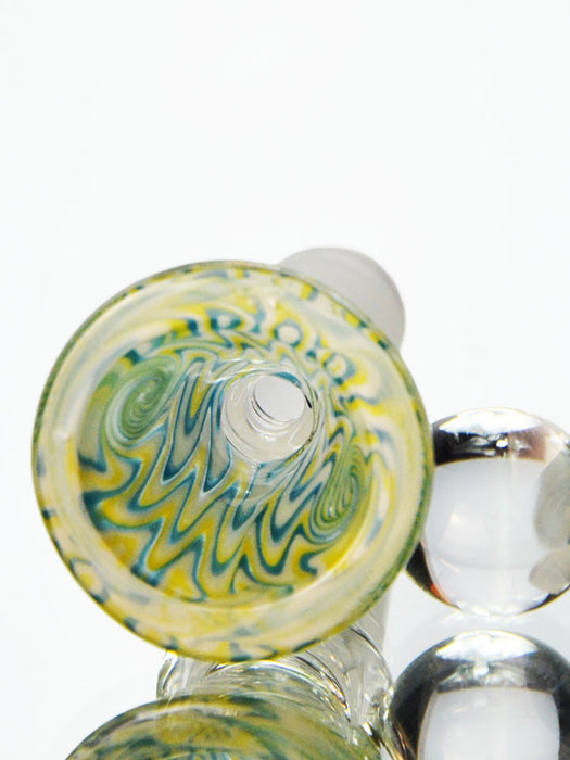 14mm Rasta Martini Bowl Piece