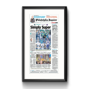 """Simply Super"", Framed Print with Mat"