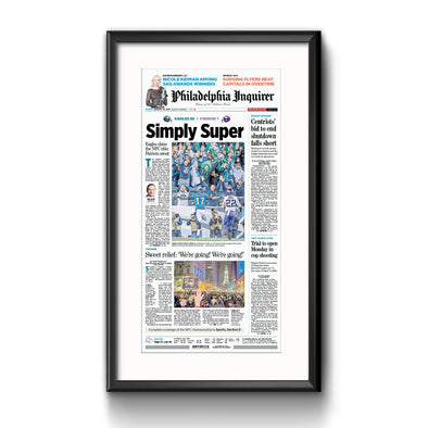 Simply Super Framed Print with Mat