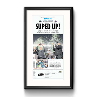 Suped Up Framed Print with Mat