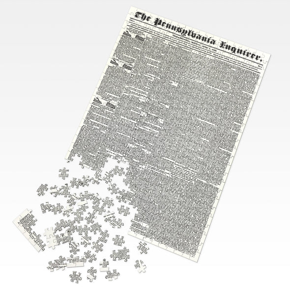 Custom Front Page Jigsaw Puzzle