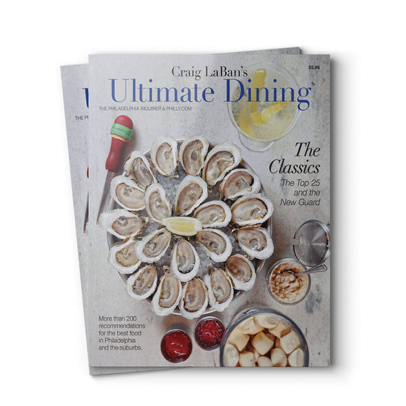 Craig LaBan Ultimate Dining Guide 2018 Food Magazine Cover