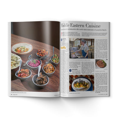 2018 Craig LaBan Dining Guide Inside Pages- Philadelphia Middle Eastern Restaurants