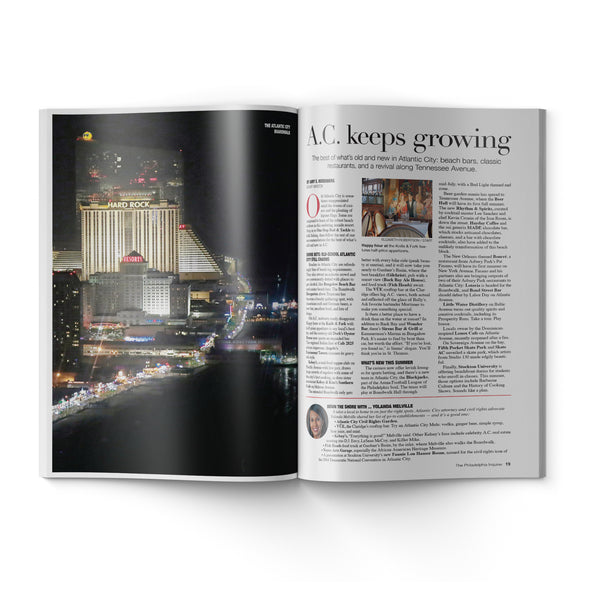 2019 Shore Guide inside pages about Atlantic City