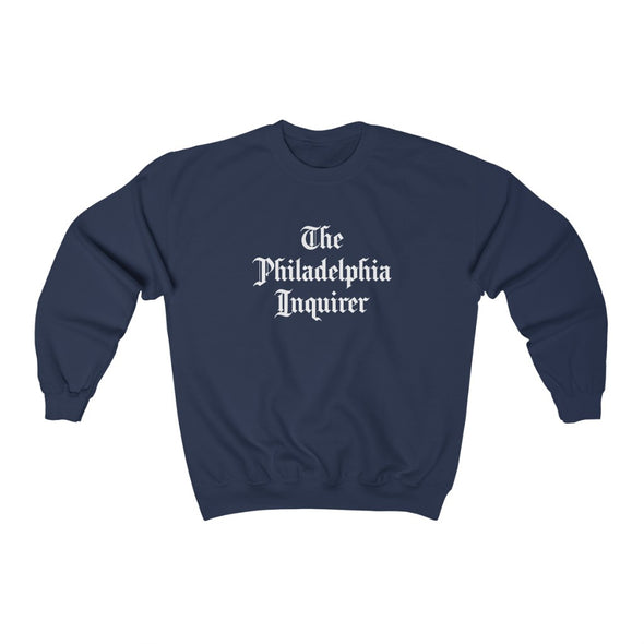 Stacked Inquirer Crewneck Sweatshirt