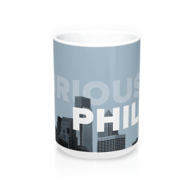 Curious Philly, Skyline Mug Front-View