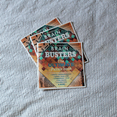 Brain Busters: The Ultimate Puzzle Book
