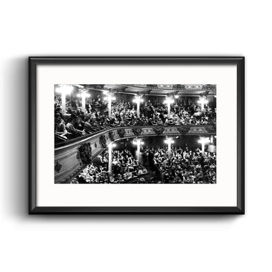 Academy of Music Framed Print with Mat