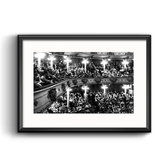"Academy of Music Picture Framed Print with Mat, ""Grand Old Lady of Locust Street"" Opera House Philadelphia Ballet and Opera Philadelphia Inquirer"