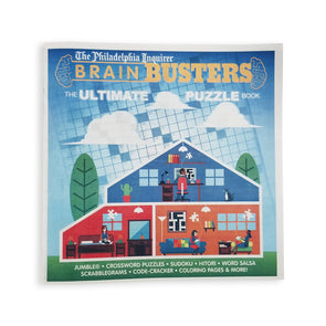 Brain Busters: The Ultimate Puzzle Book (2019)